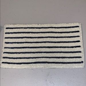 Forever 21 beaded clutch